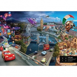 Dutch Wallcoverings Fotobehang Disney Cars World