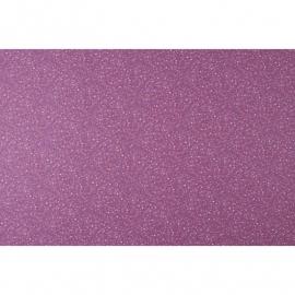 005.Caselio Bloemetjesstof in paars/rood/creme