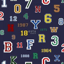 College Cijfers en Letters behang 138832
