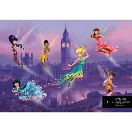 Dutch Wallcoverings Fotobehang Disney Fairies in London FTDS1925