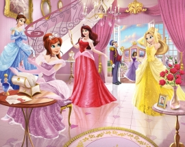 Walltastic Prinsessen Posterbehang