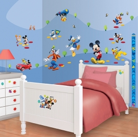 Walltastic Disney Mickey Mouse Room Decor Kit