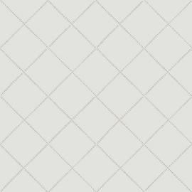 Wiebertjesbehang wit grijs