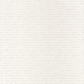 Tekst behang  grijs wit 1000