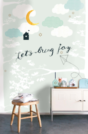 Little OZP 3768 Let's Bring JOY MINT groen