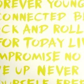 Life Stof Woorden in geel