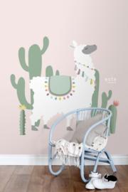 Esta Home Let's Play! PhotowallXL Alpaca 158926