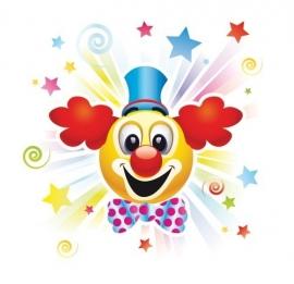13056 Clowns Joy Dutch DigiWalls Olly Fotobehang