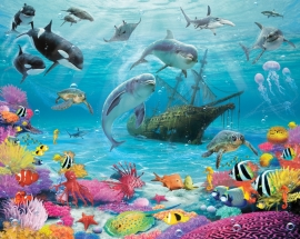 Walltastic Onderwaterwereldbehang