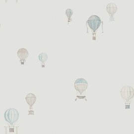 02. Luchtballon blauw