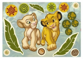 Lion King Simba en Nala Stickers 14040h