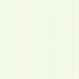 Streepjes behang  groen 152