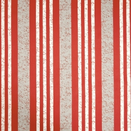 Life Streepbehang rood grijsmetalic creme