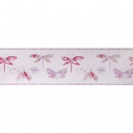 Caselio Vlinderrand in roze fuchsia paars lila