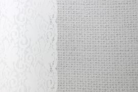 Onszelf kant en wol grijs wit OZ 3015