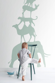 Esta Home Let's Play! PhotowallXL Stack of Animals 158921