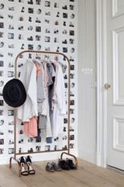 Esta Home FAB Polaroid foto's behang lichtbeige kleur 138846