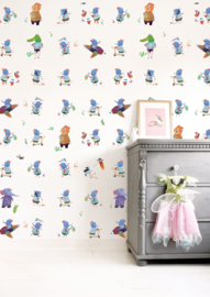 KEK Amsterdam Kids behang Blue Elephant WP-419