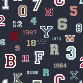 College Cijfers en Letters behang 138833
