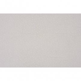 016. Caselio Bloemetjes voile in wit