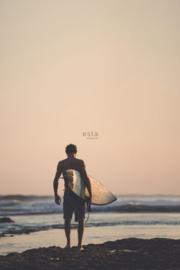 Esta Home Regatta Crew surf edition PhotowallXL Men with Surfboard 158847