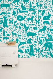 KEK Amsterdam Kids behang ABC Animals WP-052