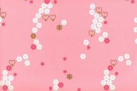 Onszelf  Patroonbehang roze  OZ 7525