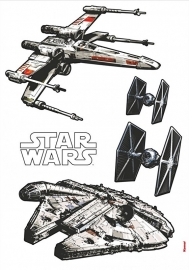 Star Wars Stickers Spaceships 14723h