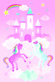 Behang Expresse Charlie Digital Mural Unicorn SW9520
