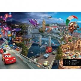 Dutch Wallcoverings Fotobehang Disney Cars World