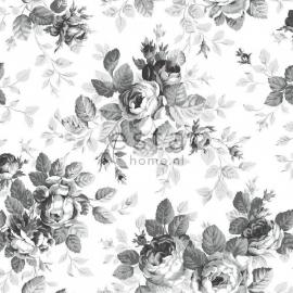 040. Esta Home Rozenbehang in zwart/wit/grijs