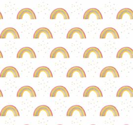 Regenboog Vrolijk met sterretjes