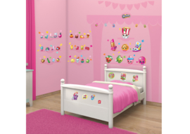 Walltastic  Shopkins Room Decor Kit