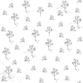 Bomenbehang  grijs zwart zilver