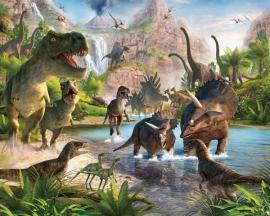 Walltastic Dinosaurus Poster behang