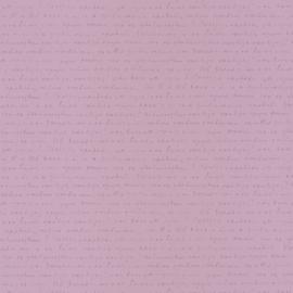 Tekst behang  lila paars 5001