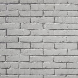 Life Stenen muur behang grijs