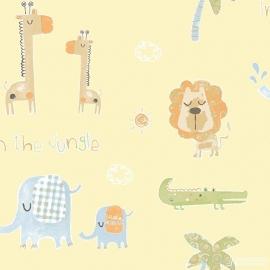 Jungle dieren geel 147
