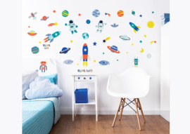 Walltastic Outer Space Decor Kit 44883