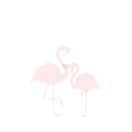Esta Home Little Bandits PhotowallXL Flamingo's Moeder en Kind 158838