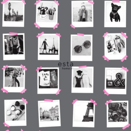 Esta Home FAB Polaroid foto's behang 138848