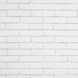 Life Stenen muur behang Wit