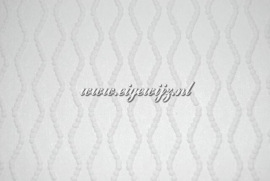 My Dear Wit overschilderbaar Behang 7636