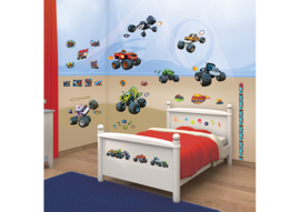 Walltastic Big Foot Room Decor Kit