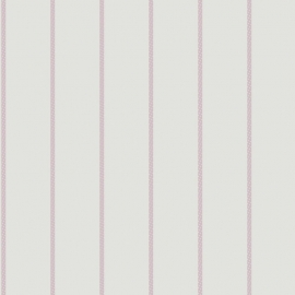 042. Streepjesbehang lila paars