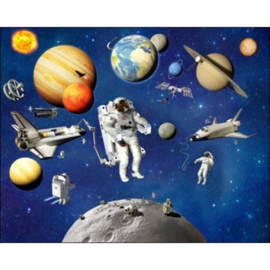 Walltastic Ruimtevaart Posterbehang LAATSTE