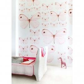 Onszelf Vlinder poster in licht roze OZ3158