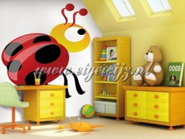47. Noordwand Little Ones Fotobehang Ladybird 414047