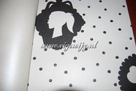 My Dear Wit met Zwarte stippen 7616