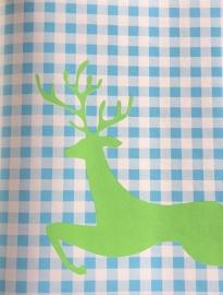 Rudolf in Turquoise Groen oz 7606